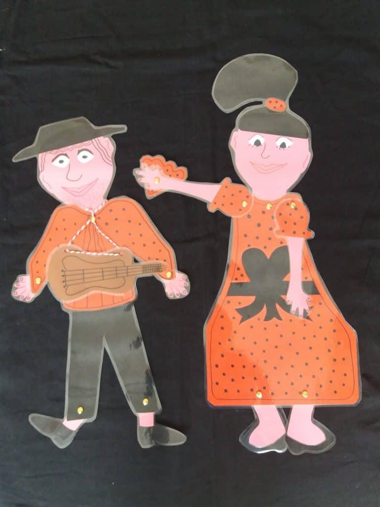 Don Pablo en Rosita